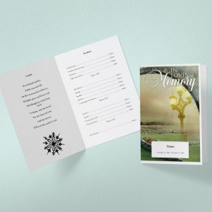 Main Welfare Funeral Program Template