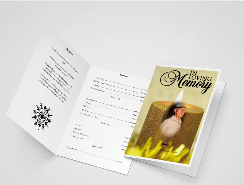 Free Obituary Template – Sample Obituary Format