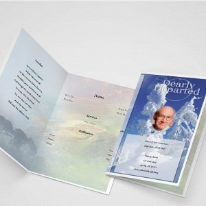 Memorandum Funeral Program Template