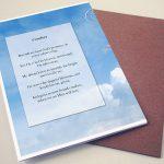 Back Comfort Funeral Program