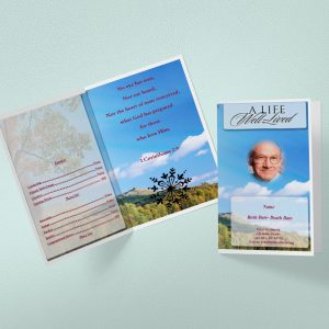general card Funeral template