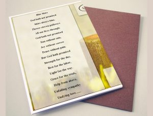 Back Yellow Candle Funeral Program Template