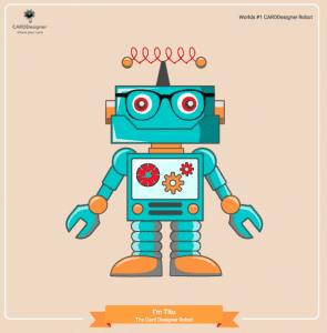 card designer robot - titu