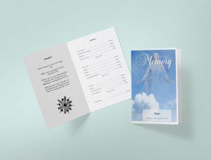 Simple Funeral Programs
