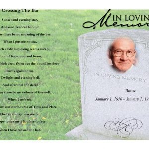 Front Grassland funeral template