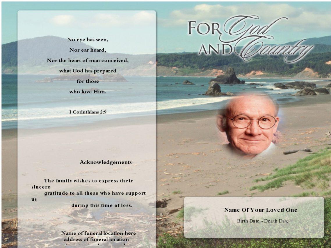 obituary guide template - obituary writing guide obituary program template