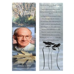 Front Vindication bookmarks template