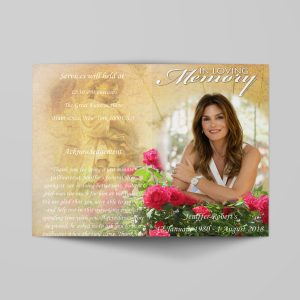 women-special-funeral-program-template-cover
